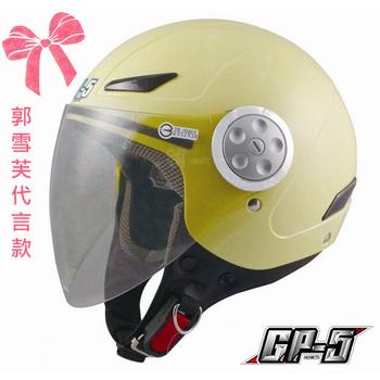 GP-5 郭雪芙代言款【買一送衣】cuxi 時尚安全帽、GP5-322、機車,摩托車、尺寸M-XL(黃M)
