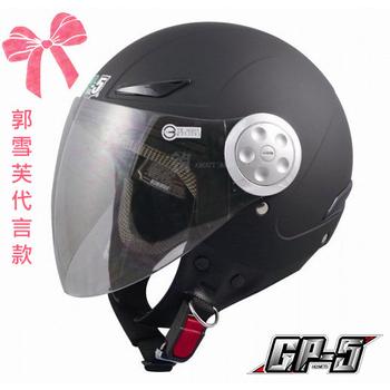 GP-5 郭雪芙代言款【買一送衣】cuxi 時尚安全帽、GP5-322、機車,摩托車、尺寸M-XL(消黑M)