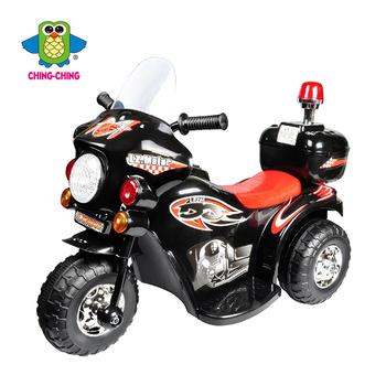 親親 皇家警察電動摩托車(黑)