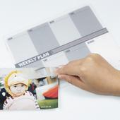 《歐士OSHI》Lpad 收心雙層滑鼠墊 - 週計畫(白灰)