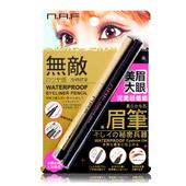 《NAF》N.A.F 美眉大眼完美超值組 (眼線膠筆:黎明深棕 +眉膠筆:經典棕黑)