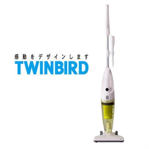 TWINBIRD 手持直立兩用吸塵器 嫩芽綠 TC-5121TWG