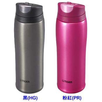 虎牌 0.48L彈蓋式不銹鋼保溫/保冷杯 MCB-H048(粉紅色)