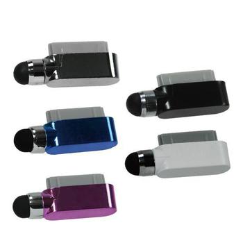 《ZIYA》電容式觸控筆 iPhone-4/4S超迷你孔塞造型 (炫彩系列 2入)(藍色)