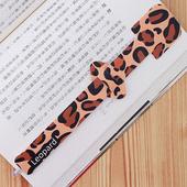 【歐士OSHI】指標書籤筆 - 豹紋 leopard