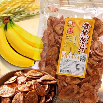 味覺生機 焦糖香蕉薄片150g(包)