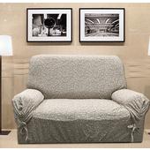 《J&N》秋之語彈性沙發便利套_咖啡色-DIY 3人(110x235x90cm)