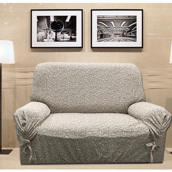《J&N》秋之語彈性沙發便利套_咖啡色-DIY 1人(110x130x90cm)