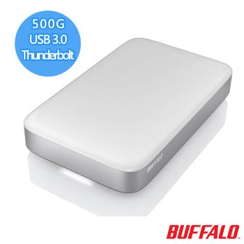 BUFFALO PAT系列500G USB3.0 Thunderbolt行動硬碟