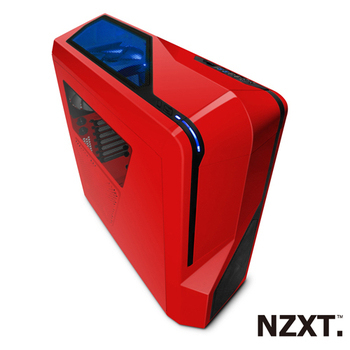 NZXT恩傑 Phantom 410小幻影 中塔式 電腦機殼(紅)