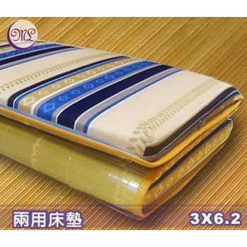 名流寢飾家居館 冬夏兩用竹面硬式透氣床墊-單人(3*6.2尺)