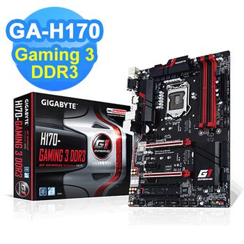 GIGABYTE技嘉 GA-H170-GAMING 3 DDR3 主機板