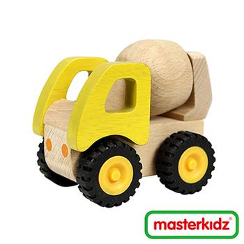 Masterkidz 木制水混凝土車玩具