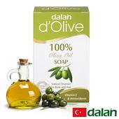 《土耳其dalan》頂級82%橄欖手工滋養皂(150g)滿99送香皂滿499送洗髮露50ml滿999送去角質手套(不累贈