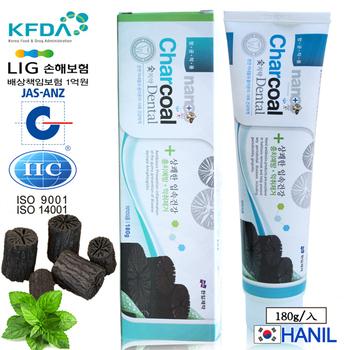 韓一製藥 奈米竹炭固齒潔白牙膏/兒童適用(180g)