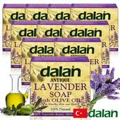 《土耳其dalan》薰衣草橄欖油傳統手工皂(12%+72%)(10入)滿99送香皂滿499送洗髮露50ml滿999送去角質手套(不累贈