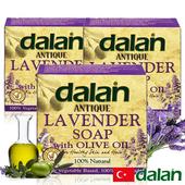 《土耳其dalan》【土耳其dalan】薰衣草橄欖油傳統手工皂(12%+72%)(3入)
