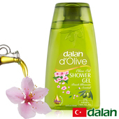 《土耳其dalan》頂級橄欖油桃花PH5.5沐浴露(250ml)買就送歐美香氛皂一入(隨機出貨)