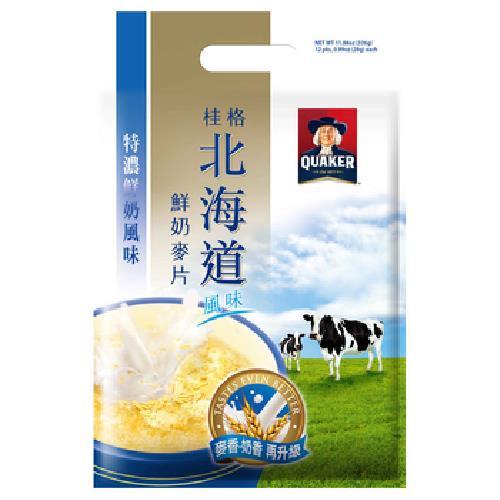 桂格 北海道特濃鮮奶麥片(28GX12入)