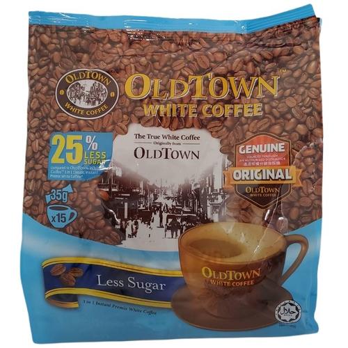 舊街場 3合1減糖白咖啡(35gx15包/袋)