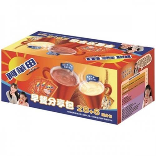 阿華田 早餐分享包(34入/盒)