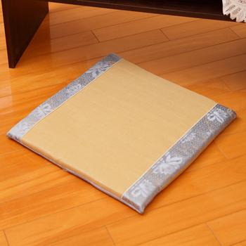 床之戀 恆彩仿草蓆沙發坐墊50x50x3cm