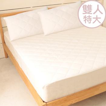 ★結帳現折★床之戀 台灣製加高床包式保潔墊-雙人特大6X7尺