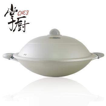 掌廚 日本理研雙柄中華鍋(38CM)