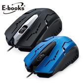 《E-books》M21 電競1600CPI光學滑鼠黑 $329