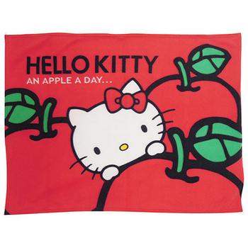 HELLO KITTY HELLO KITTY 蘋果多多/ 最愛蝴蝶結 刷毛毯(蘋果多多)