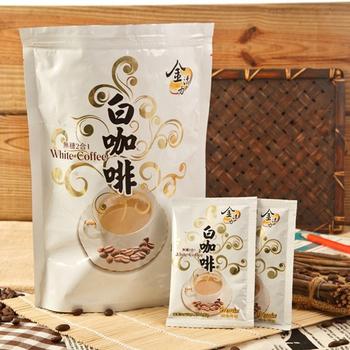啡茶不可 二合一無糖白咖啡(20gx15包/袋x3袋)