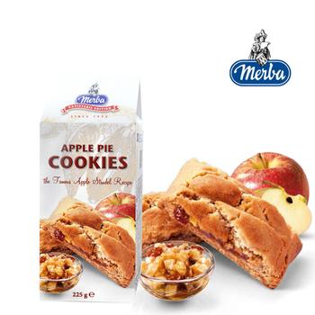 Merba摩巴 頂級軟餅-蘋果派軟餅(225g/盒)