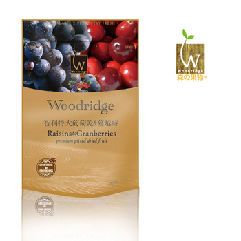 Woodridge 森之果物-嚴選葡萄乾 +蔓越莓(350g/包)