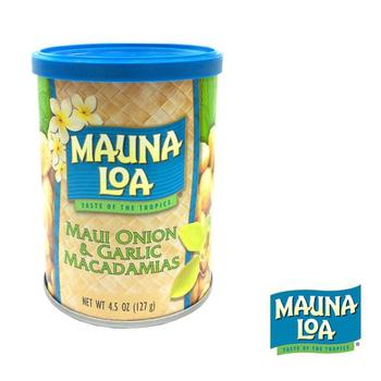 夢露萊娜 夏威夷果-毛伊島洋蔥香蒜(127g/罐)