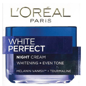 《L'oreal Paris》巴黎萊雅完美淨白深層修護晚霜(50ml)