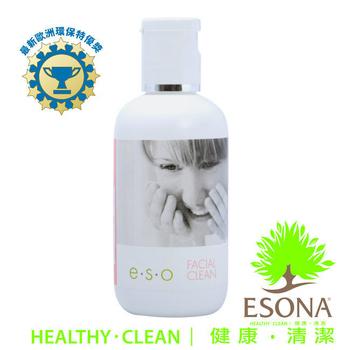 《曜兆ESONA》微泡沫天然洗臉卸妝兩用洗淨乳100ml(1入)