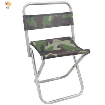 月陽 迷彩版高48cm背靠式折疊椅休閒椅馬扎折疊凳(U48B)