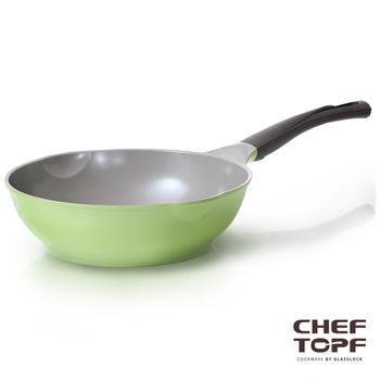 ★結帳現折★Chef Topf Chef Topf 薔薇系列28公分不沾炒鍋