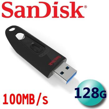 (公司貨) SanDisk Ultra Fit CZ48 USB3.0 100MB/s 高速隨身碟 -128G