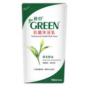抗菌沐浴乳補充包-綠茶精油(700ml*12)