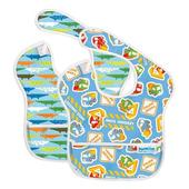 《美國Bumkins》~免運費~防水兒童圍兜兜-帥氣款 兩件組