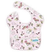 《美國Bumkins》~免運費~防水兒童圍兜兜-粉紅兔兔