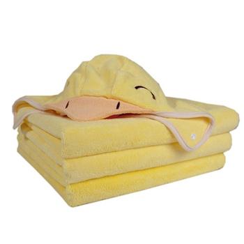 《COTEX可透舒》開心可達鴨浴巾
