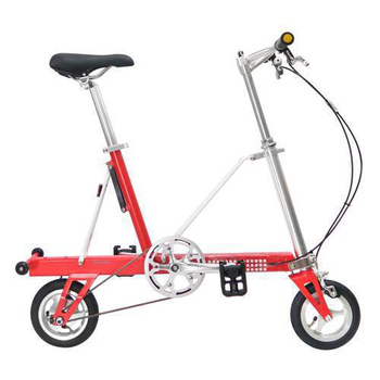CarryMe STD 8吋單速折疊小輪車(平光紅)