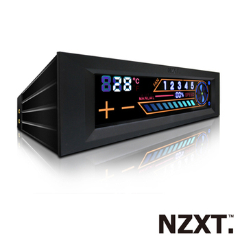 NZXT恩傑 Sentry 2 風扇控制器(Sentry 2 Touch Screen Meter)