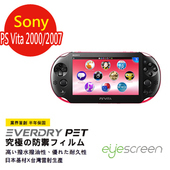 《TWMSP》EyeScreen 索尼 Sony PS Vita 2000/2007 EverDry PET 螢幕保護貼