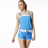 《SARBIS》MIT大女造型連身二件式泳裝附泳帽(內附三角泳褲)B92529(M)