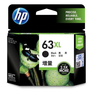 HP HP F6U64AA NO.63XL 原廠黑色高容量墨水匣(HP F6U64AA NO.63XL 原廠黑 原廠黑色墨水匣)
