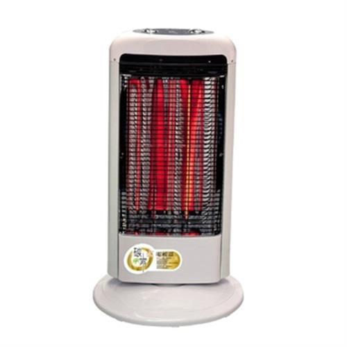 《伊娜卡》雙管式碳素電暖器ST-3816T