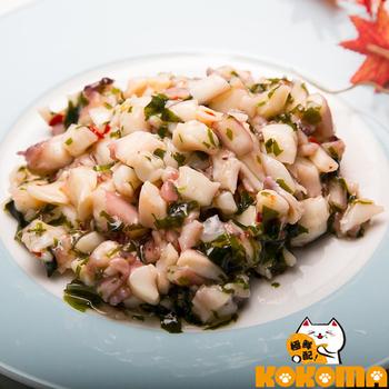 《極鮮配》芥末魷魚(200g±10%/包*8)